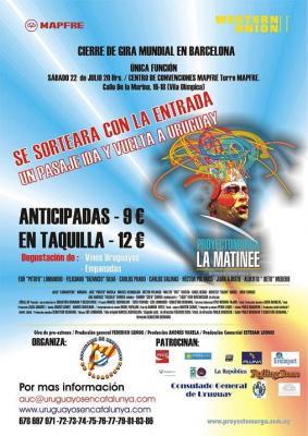 URUGUAYOS EN CATALUNYA INVITAN